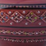 Cendrier anti fumée Marrakech Violet - Grand modèle