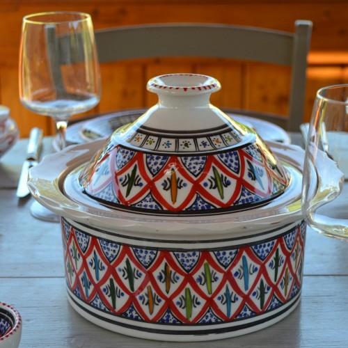 Cocotte Querouana Bakir rouge - D 20 cm