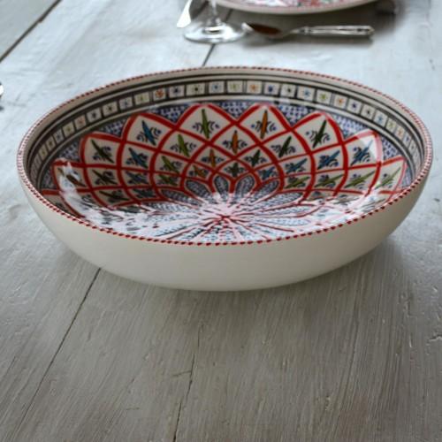 Jatte Bakir rouge - D 31 cm