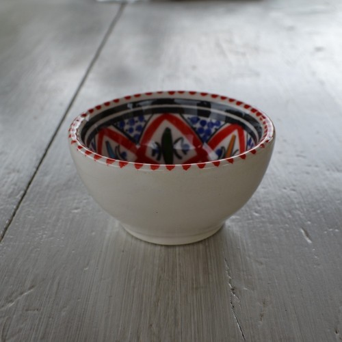 Bol Jileni rouge - Diam 8 cm