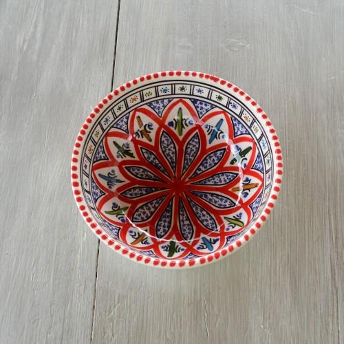 Bol Jileni rouge - Diam 10 cm