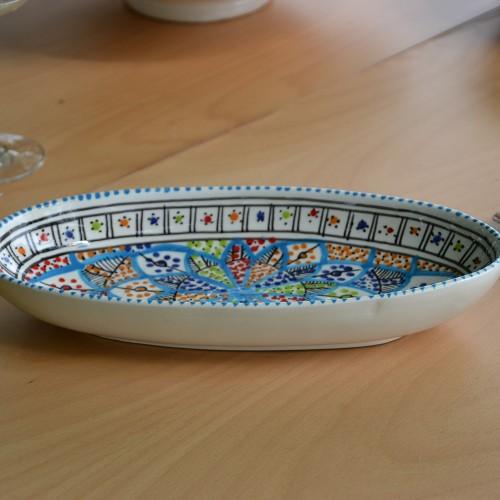 Plat ovale Bakir Royal - L 24 cm