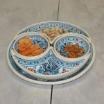 Service apéritif Marocain Turquoise