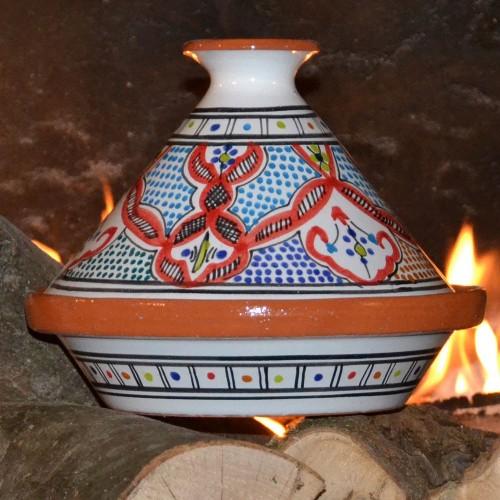 Tajine Marocain rouge - D 23 cm