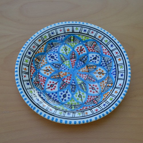 Lot de 6 assiette plate Bakir Royal - D 24 cm