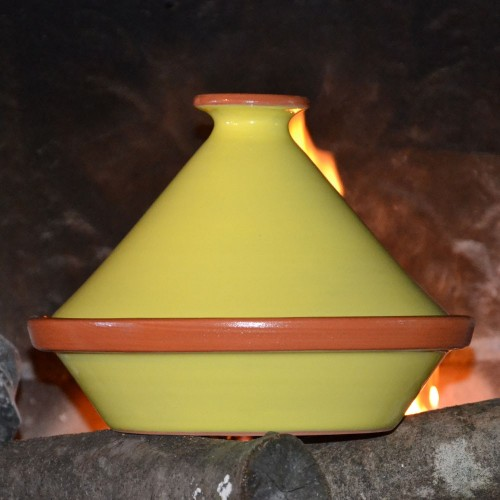 Tajine Spécial Feu Jaune - D 27 cm