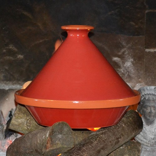 Tajine Spécial Feu Rouge- D 27 cm