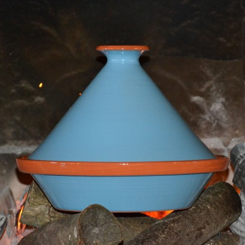 Tajine Spécial Feu Bleu- D 27 cm