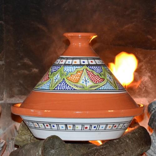 Tajine Marocain Vert - D 31 cm