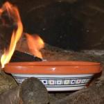 Tajine de cuisson Marocain color - D 23 cm
