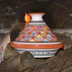 Tajine individuel Bakir Royal Orange - D 23 cm