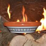 Tajine individuel de cuisson Bakir rouge - D 23 cm
