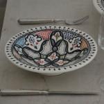 Service à couscous assiettes Tebsis Marocain Color - 6 pers