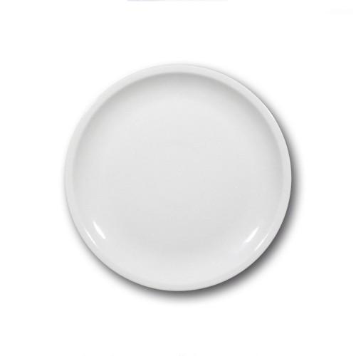 Assiette plate porcelaine blanche - D 27 cm - Roma