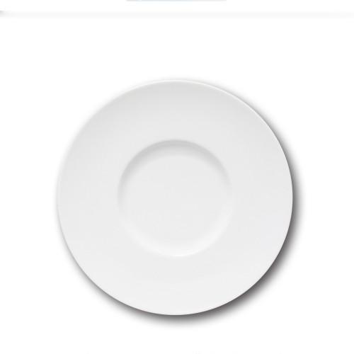 Assiette de présentation porcelaine blanche - D 31 cm - Napoli
