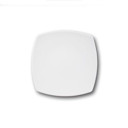 Assiette à dessert porcelaine blanche - L 21 cm - Tokio