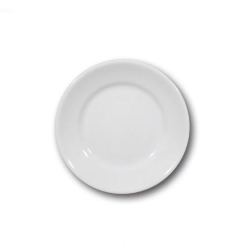 Lot de 6 assiettes à dessert porcelaine - D 20 cm - Tivoli