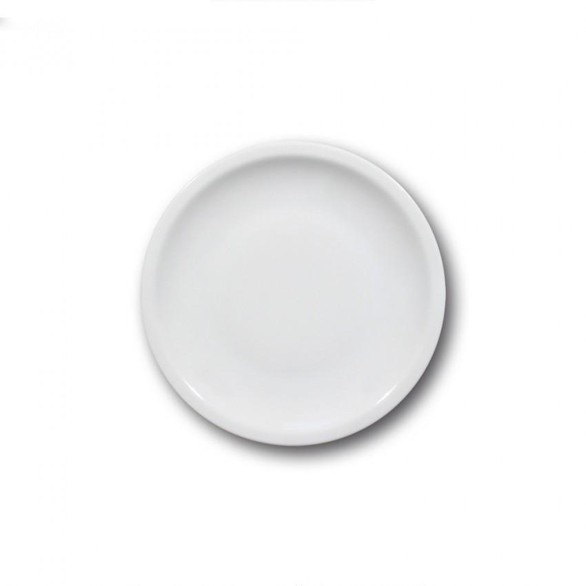 Lot 6 assiettes à dessert porcelaine - D 20 cm - Roma