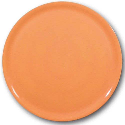 Assiette à pizza Orange - D 31 cm - Napoli