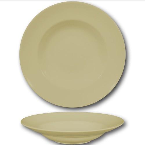 Assiette à pâtes crème - D 30 cm - Napoli