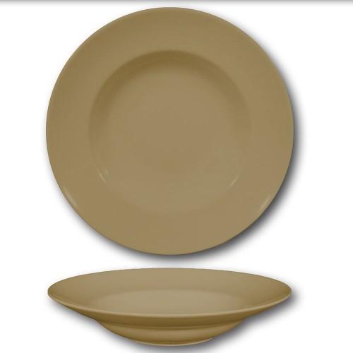 Assiette à pâtes Marron - D 30 cm - Napoli