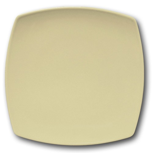 Assiette présentation porcelaine couleur Crème - L 31 cm - Tokio