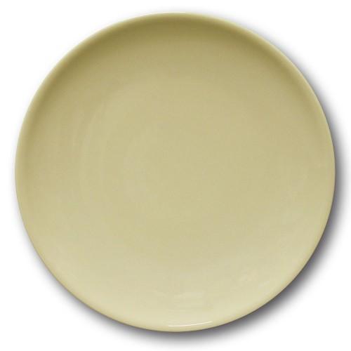 Assiette plate porcelaine couleur Crème - D 28 cm - Siviglia