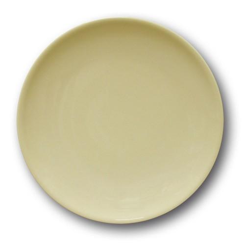 Lot de 6 assiettes à entrée et à dessert couleur Crème - D 21 cm - Siviglia