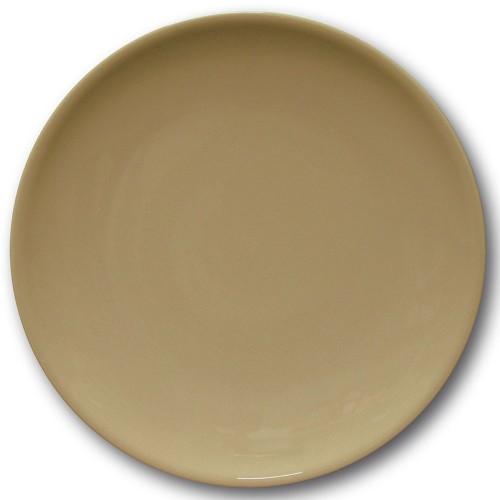 Assiette de présentation porcelaine couleur Marron - D 31 cm - Siviglia