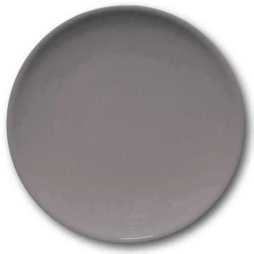 Assiette de présentation porcelaine Gris - D 31 cm - Siviglia