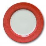 Assiette plate Prestige Rouge D 31 cm