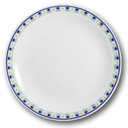 Lot de 6 assiettes plates de la Mamma - D 26 cm